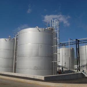 The new premises for the expansion of bulk tanks.